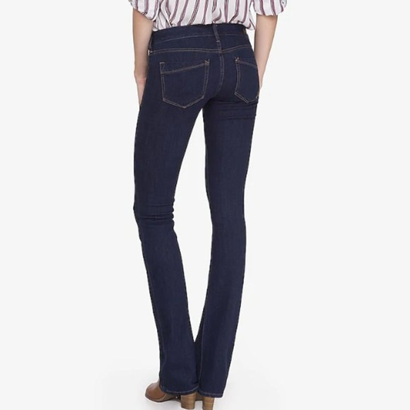Express Denim - Express Barely Boot Low Rise Jeans | 4 Short NWT